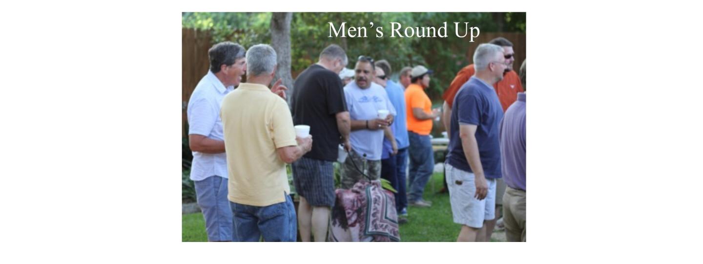 Men's Round Up