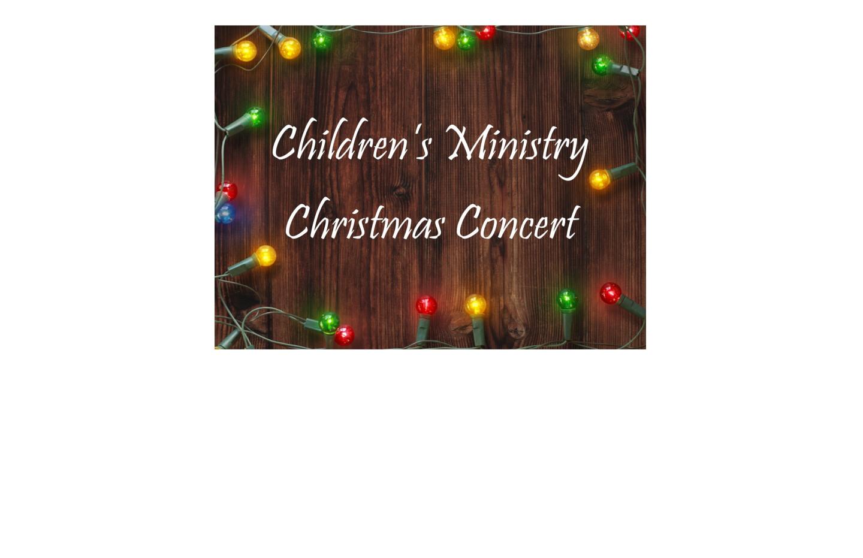 Children's Choir Christmas Concert